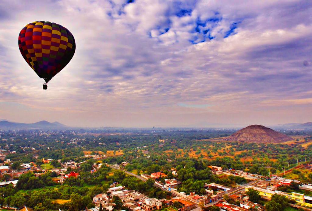 ¡Vuela en globo en Teotihuacán! - volar-en-globo-aerostatico-teotihuacan-mexico