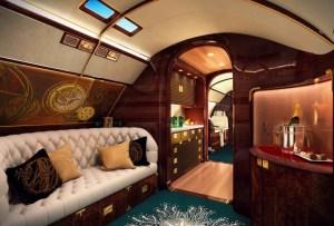 Así se ve por dentro el jet privado más exclusivo del mundo
