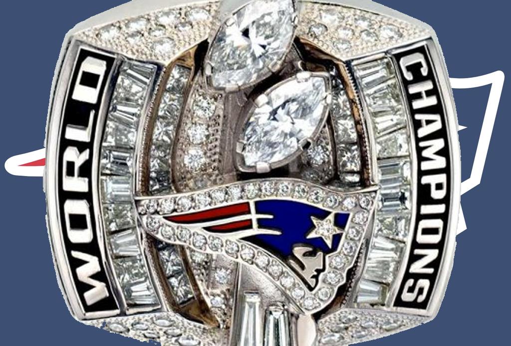 Los 5 anillos del Super Bowl más costosos de la historia - patriotas-2003