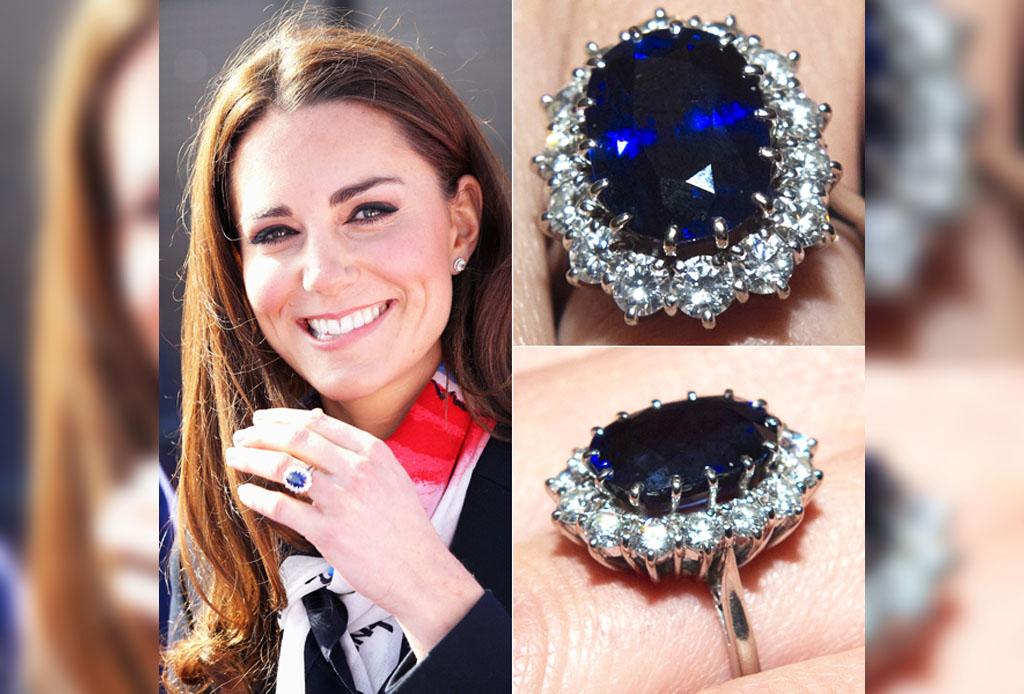 d73d960b5a9b El Príncipe William se convirtió en el príncipe azul cuando le dio a Kate  el anillo de compromiso. Pero no cualquier anillo