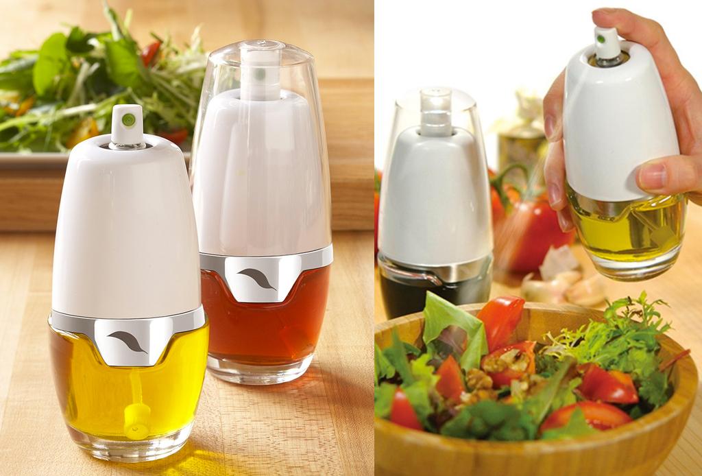 5 gadgets de cocina para preparar platillos healthy - spray-aceites-gadgets-comida-healthy