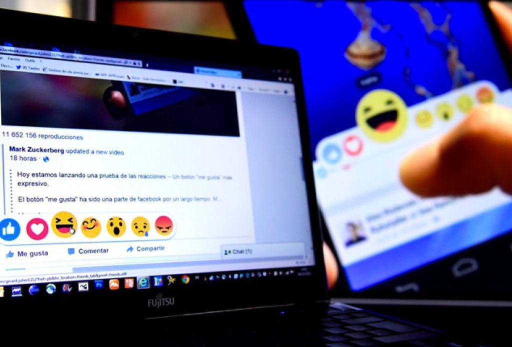 Conoce las nuevas 'reactions' de Facebook cuando das un LIKE - facebook-reactions