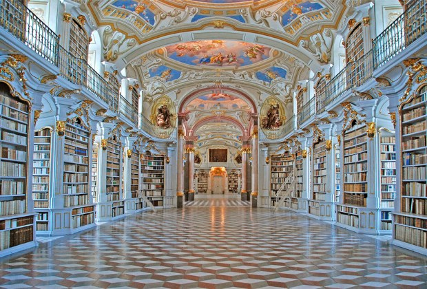 Estas son la librerías más impresionantes del mundo - admont-library-1024x694