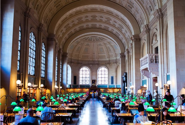 Estas son la librerías más impresionantes del mundo - boston-1024x694