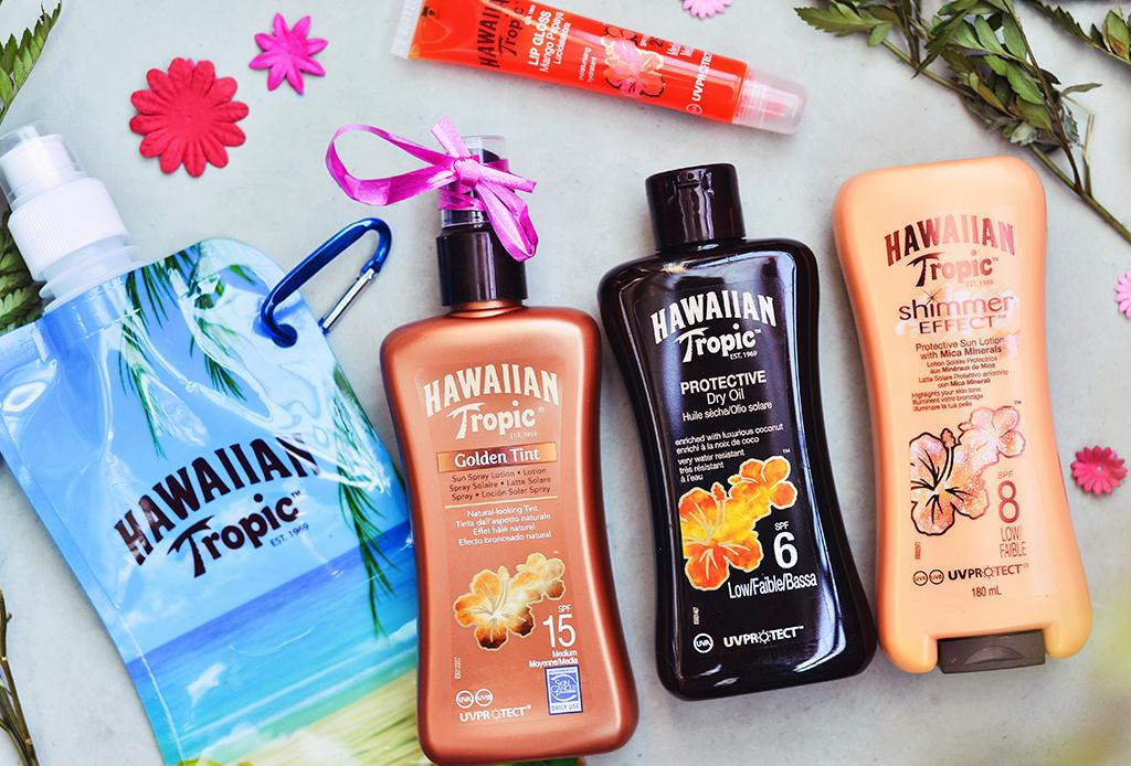 ¡Prepárate para las vacaciones con Hawaiian Tropic!