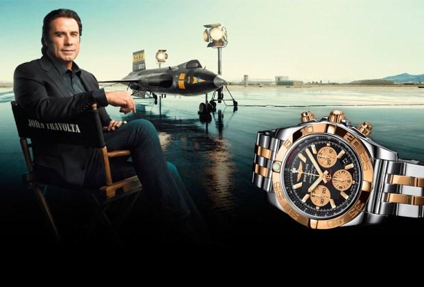 ¿Cuáles son los relojes que usan las celebridades? - john-travolta-1024x694