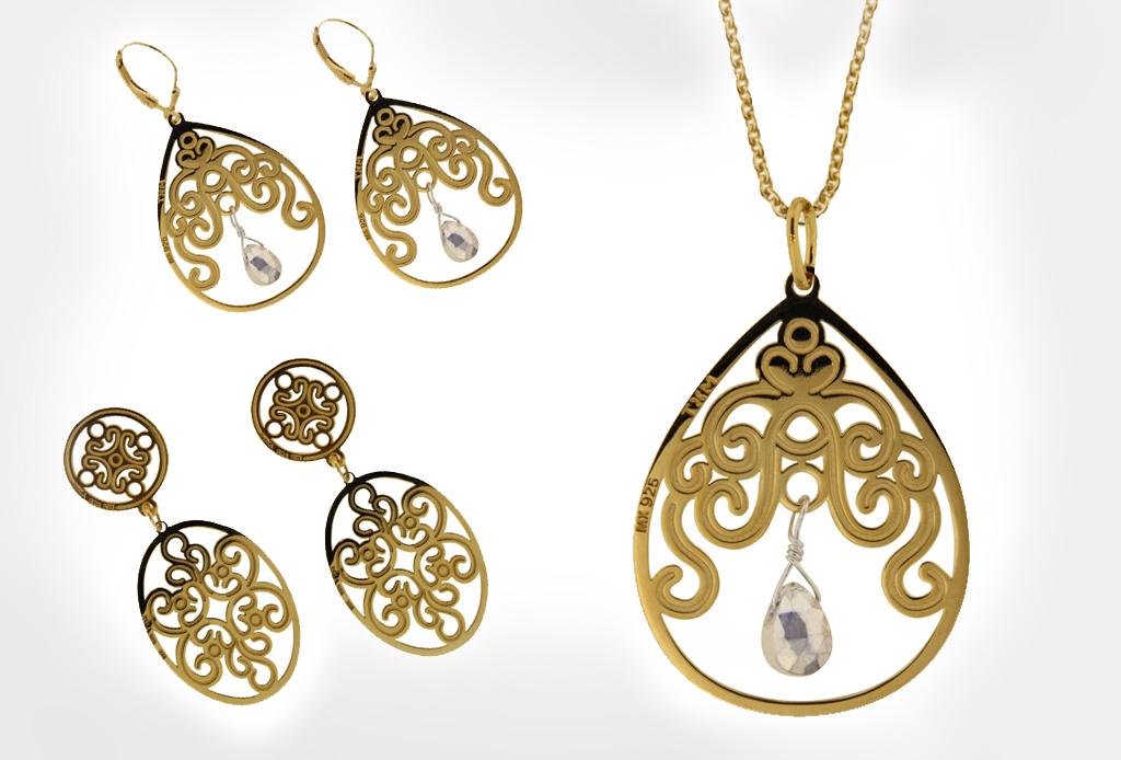 7 piezas must de joyería tipo árabe para esta primavera