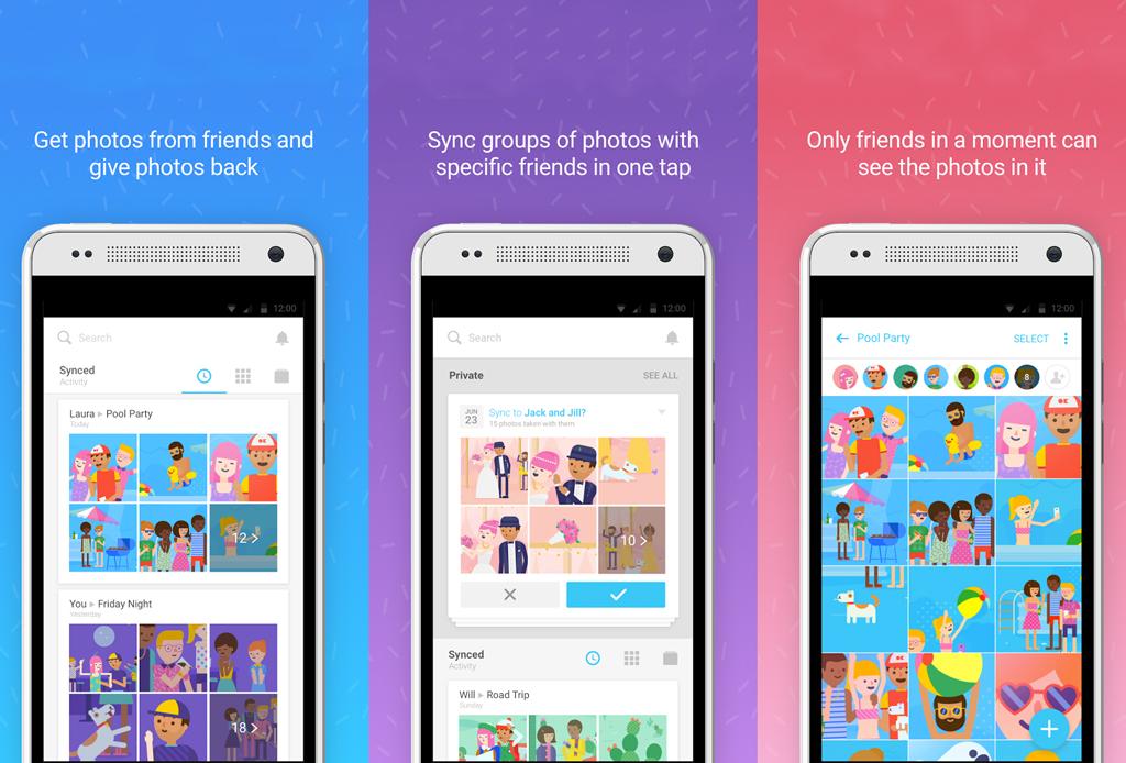 Moments: una app que recupera las fotos que tu no tomaste - moments-app