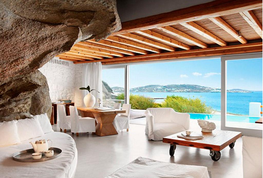 Dale un toque griego a tu hogar con estas decoraciones - Muebles estilo mediterraneo ...