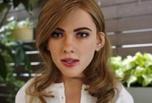 El robot que está inspirado en Scarlett Johansson
