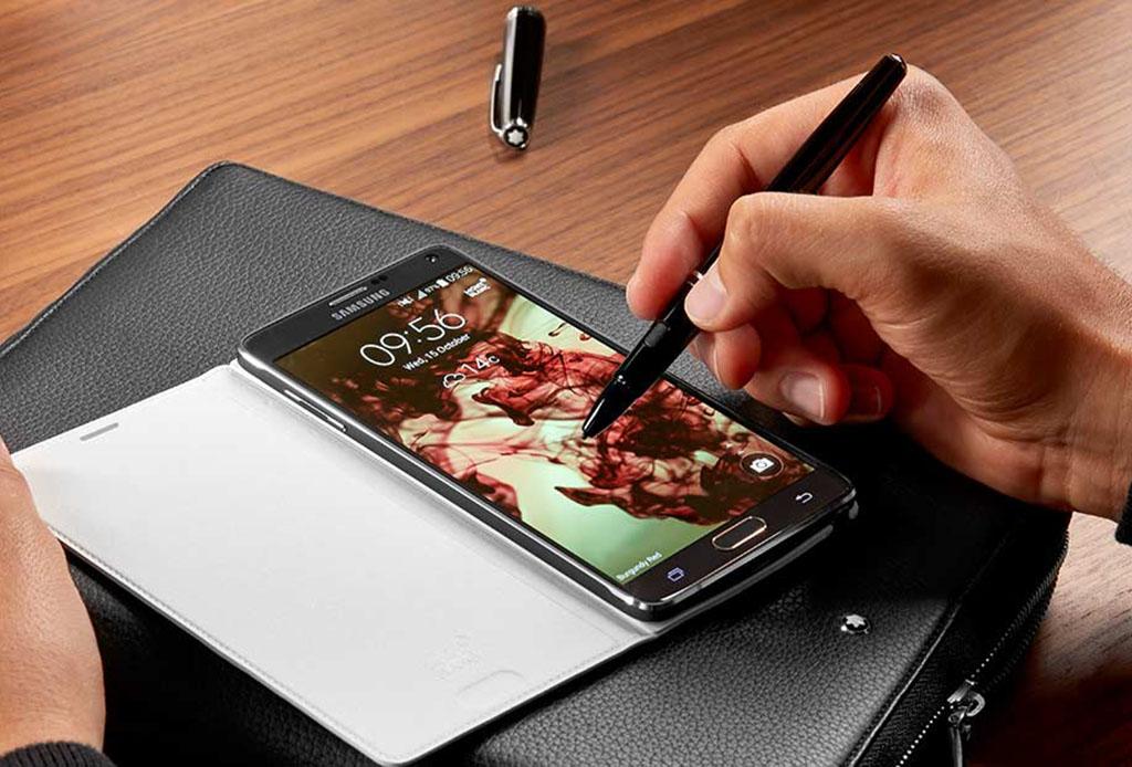 Las fundas de Montblanc y Samsung vestirán a tu celular de elegancia