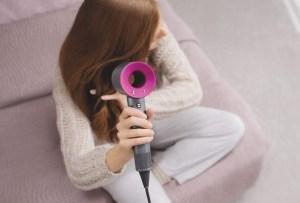 La primera secadora para el pelo supersónica