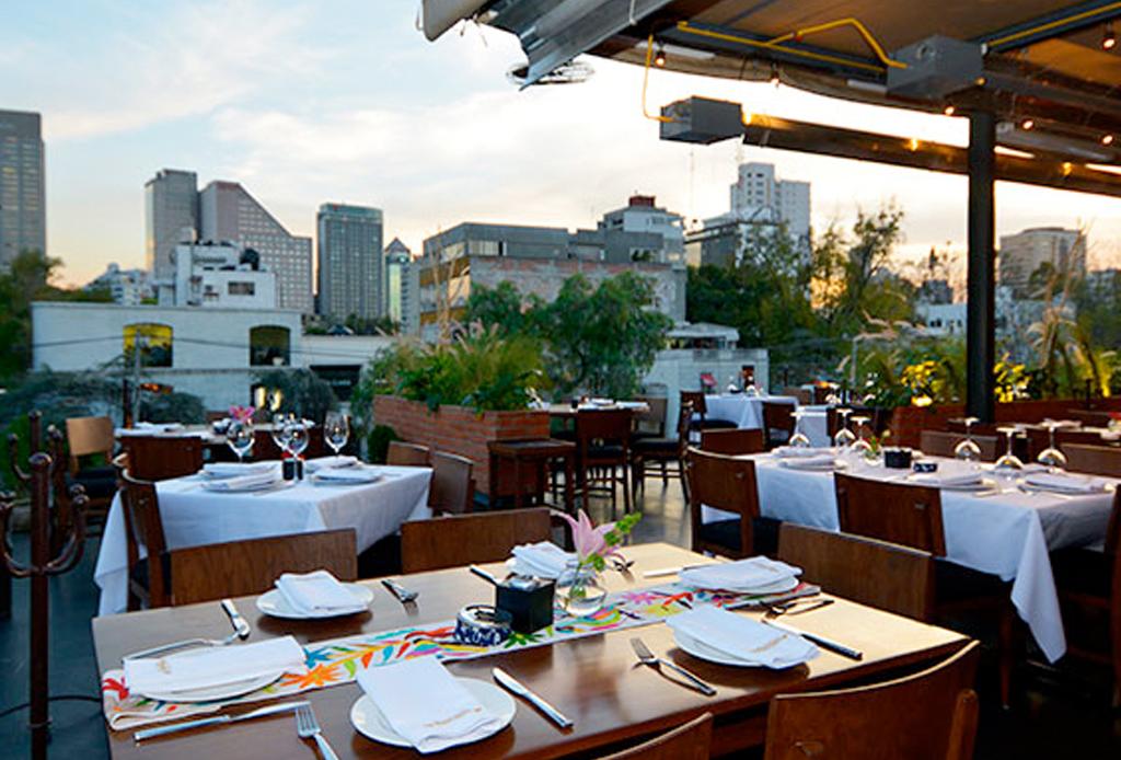 10 restaurantes con impresionantes vistas de la cdmx for Modelos de restaurantes
