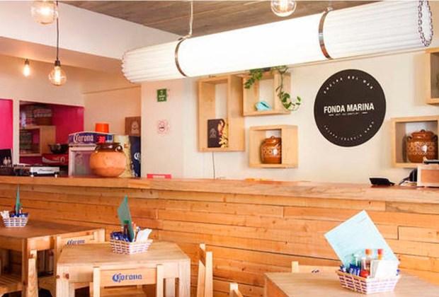 Visita estas 5 fondas gourmet en la Ciudad de México - fonda-marina-1024x694