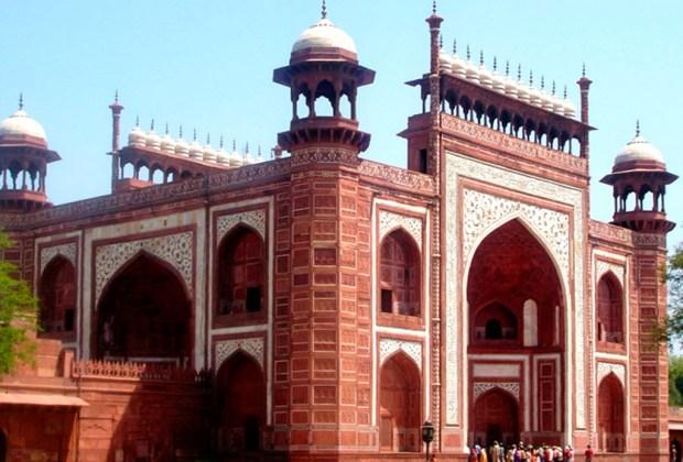 10 datos del Taj Mahal que probablemente no conocías - mezquita-1024x694