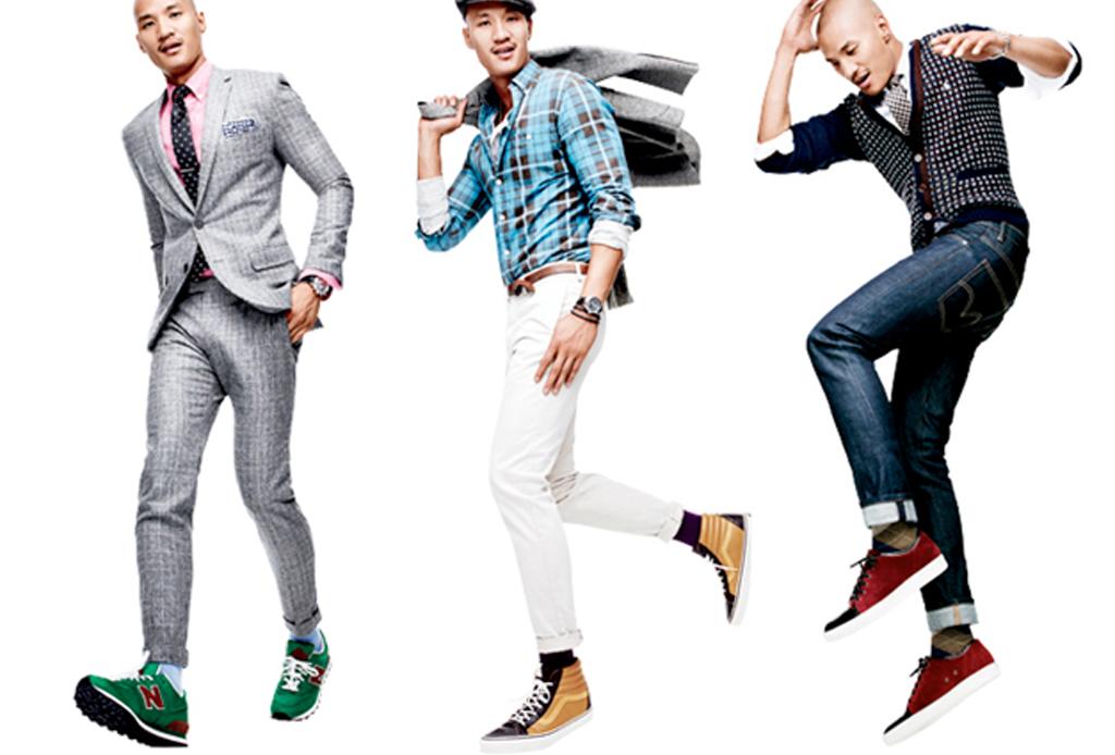 5 formas de usar sneakers con cualquier outfit - para-la-oficina