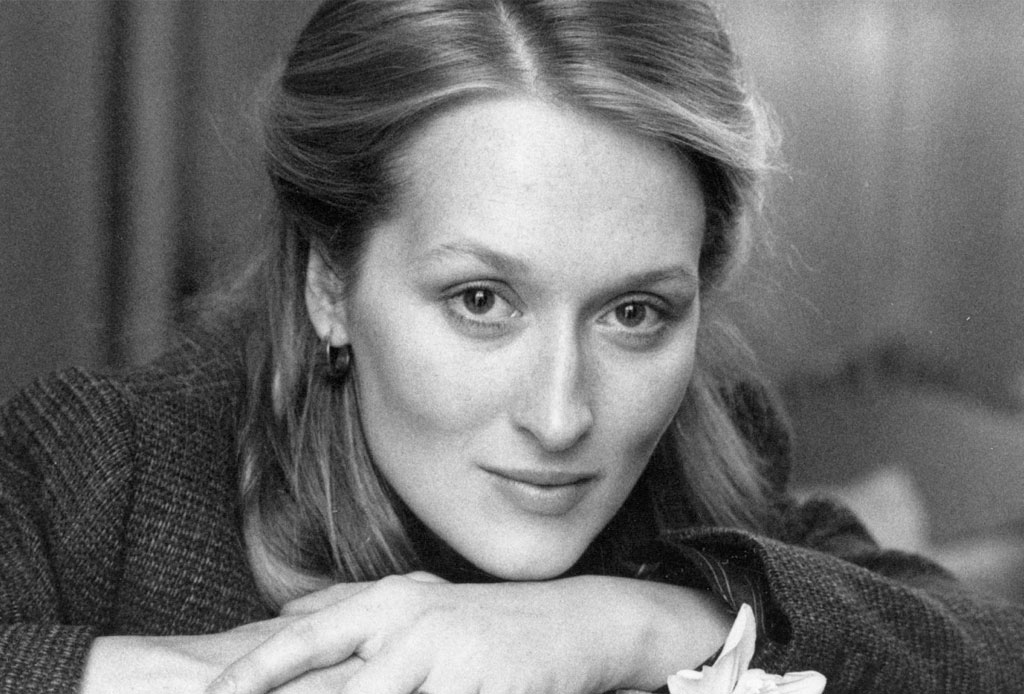 10 cosas que probablemente no sabías de Meryl Streep - meryl-streep-blancoynegro