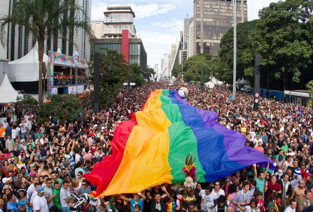 8 ciudades para celebrar el #PrideWeekend - sao-paulo-pride