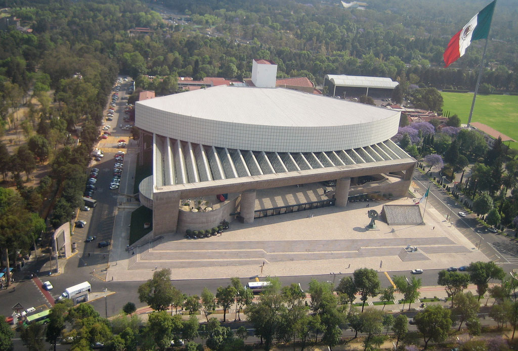 42 lugares para un inolvidable tour arquitectónico por la CDMX - audotirio-nacional