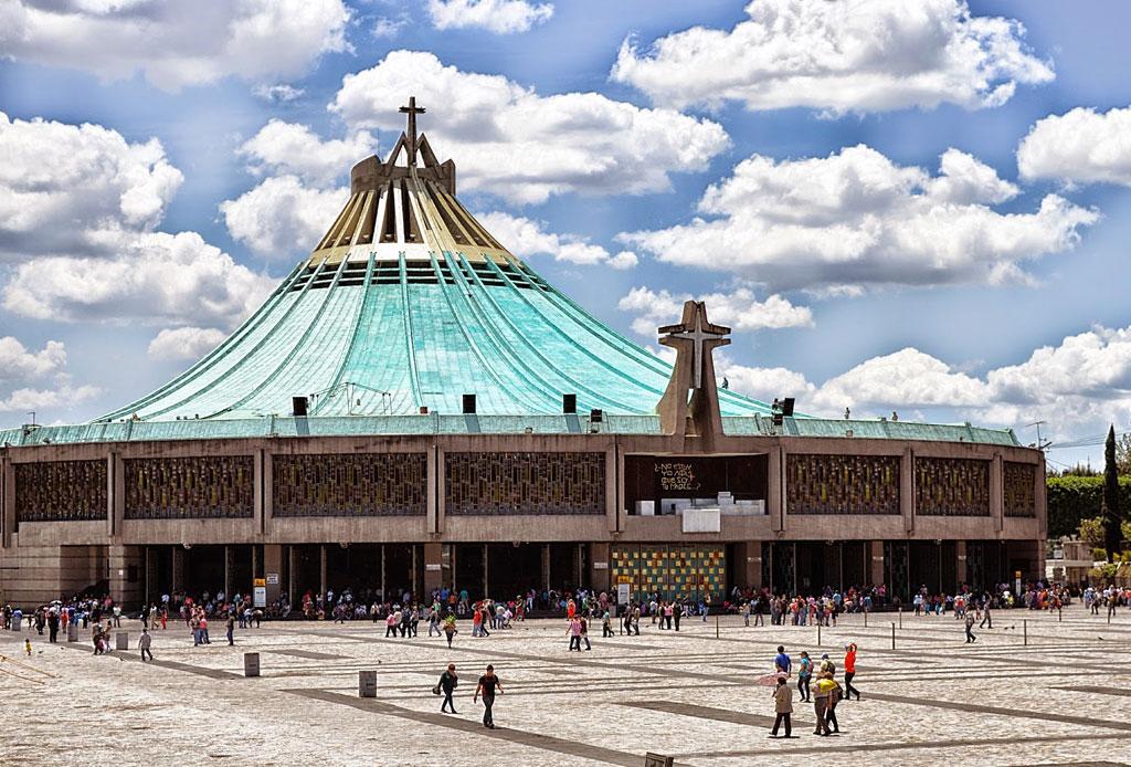 42 lugares para un inolvidable tour arquitectónico por la CDMX - basilica-de-guadalupe