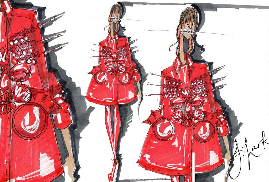Todo lo que debes saber de la Alta Costura - boceto-margiela