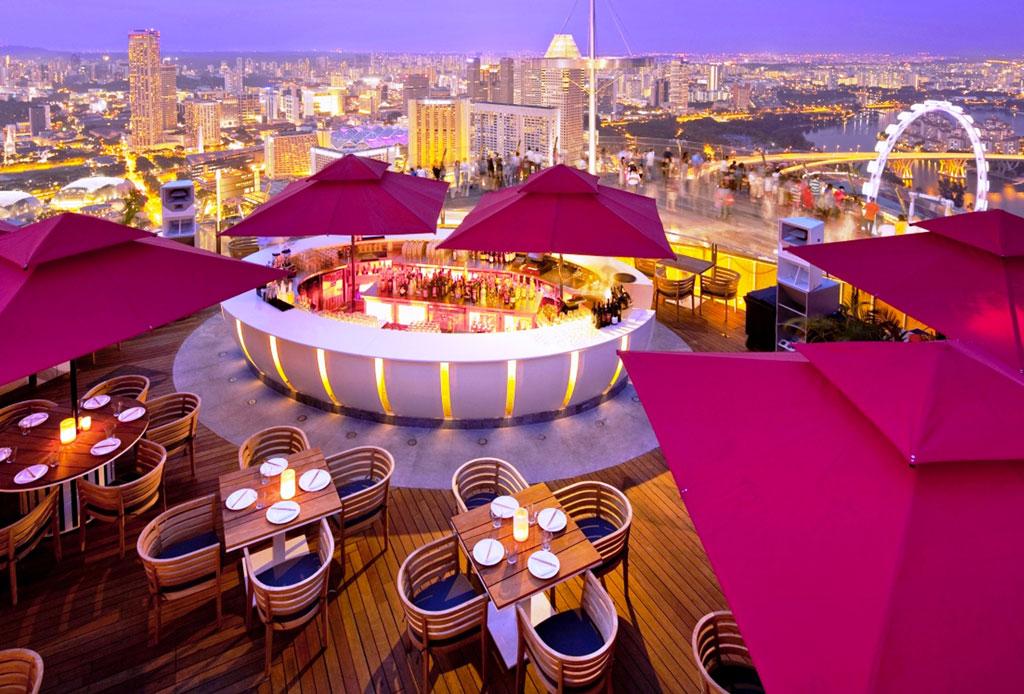 Sorpréndete con la cena más cara del mundo - ce-la-vi-singapore