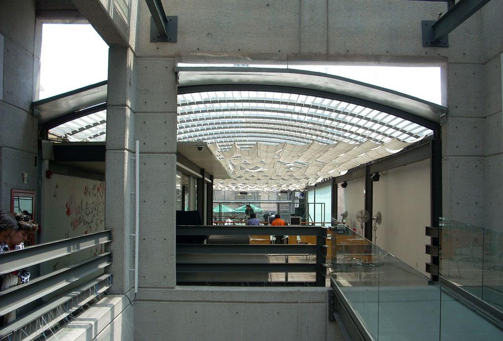 42 lugares para un inolvidable tour arquitectónico por la CDMX - centro-cultural-espancc83a