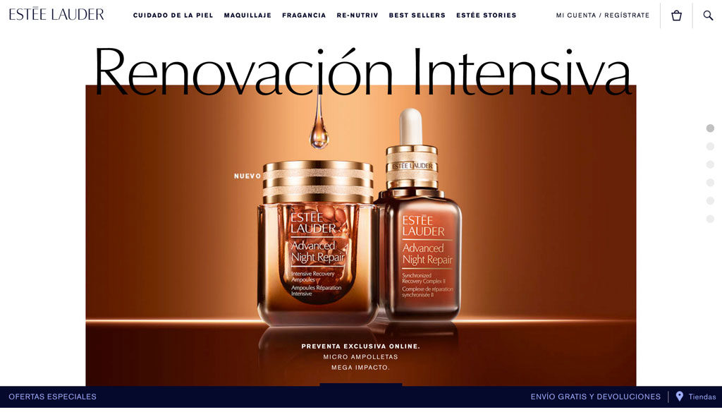 Estée Lauder nos presenta su nueva tienda online en México - estee-lauder-pagina-e1468536154435