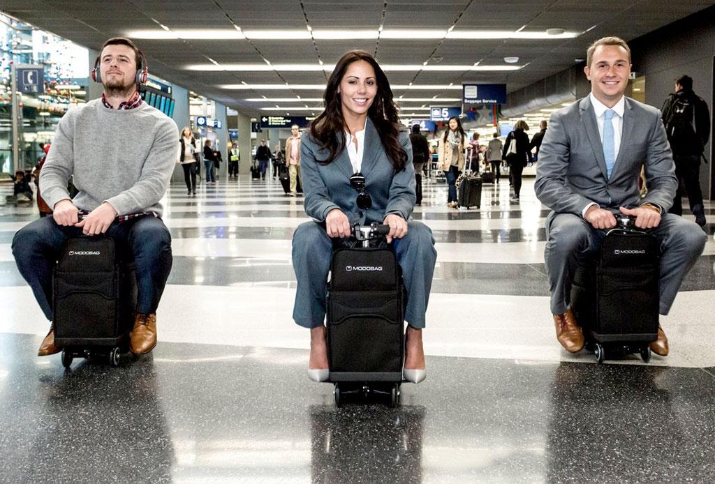 Modobag: La maleta motorizada que querrás para tus viajes - maleta-con-motor-3