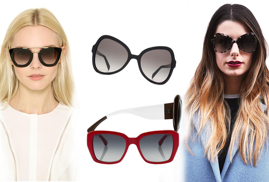 6 estilos de lentes oscuros para acompañar el verano - mariposa