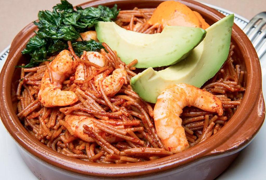 13 restaurantes en la CDMX donde DEBES probar fideo seco
