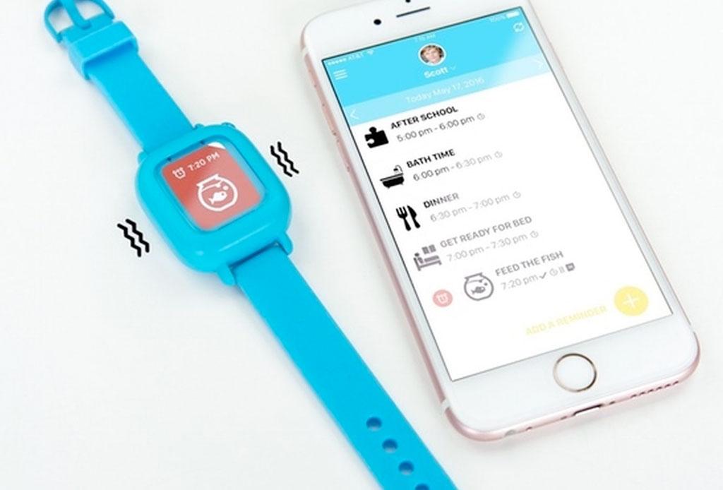 Un reloj inteligente que ayudará a tu hijo a mejorar sus hábitos - octopus-reloj-para-ninos