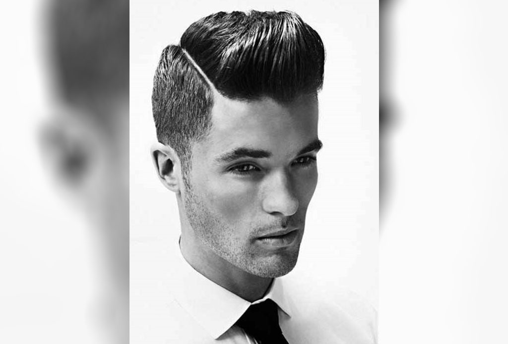 este corte funciona para casi cualquier tipo de pelo y de preferencia lo debes tener un poco largo para que tenga forma consiste en degradar los lados y