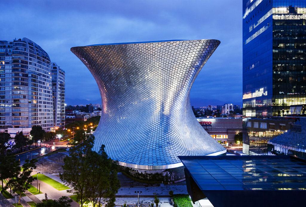 42 lugares para un inolvidable tour arquitectónico por la CDMX - soumaya