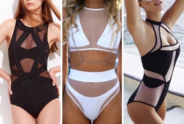7 tendencias de trajes de ba o para este verano for Traje banos completos