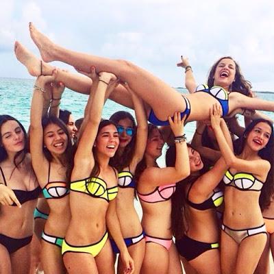 7 tendencias de trajes de baño para este verano - triangl-bikini