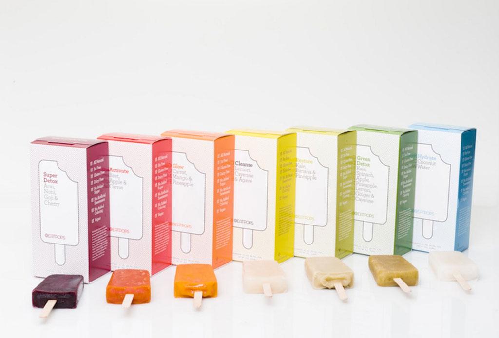 ¡Adiós al juicing! Baja de peso con paletas heladas - popsicles