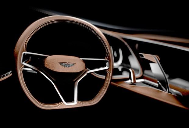AM37: la lancha deportiva de Aston Martin - volante-1024x694