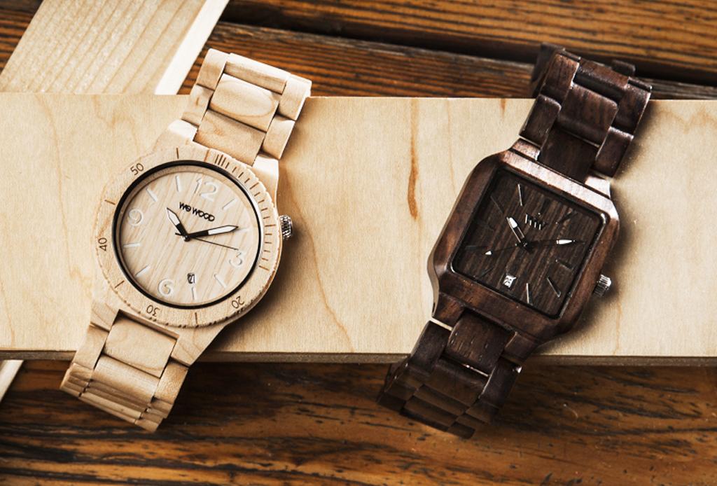 Wewood: relojes que ayudan al medio ambiente