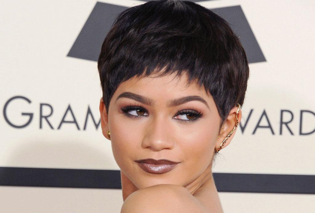 11 celebridades que usan peluca y no sabías - zendaya