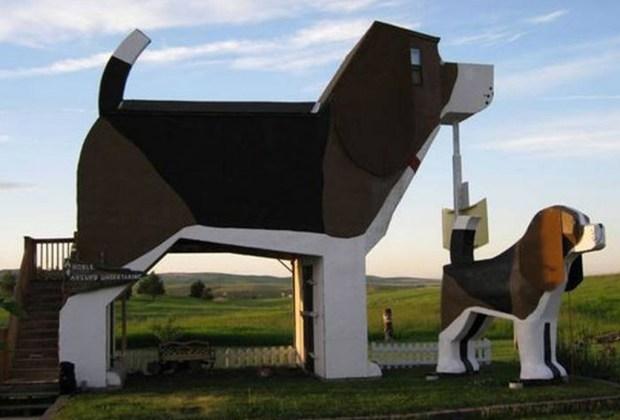Estas son las 9 casas más exóticas que puedes rentar en Airbnb - dog-house-1024x694
