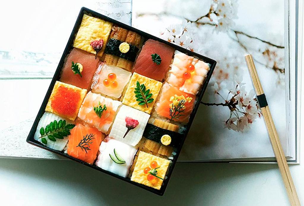 Mosaic Sushi el plato favorito en Instagram