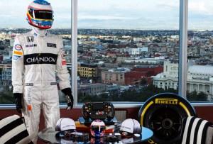 Hospédate en la suite de la Fórmula 1 en el Hilton Alameda