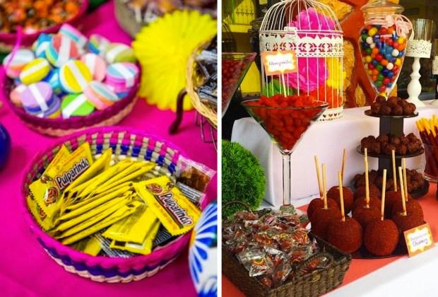 10 tips para decorar una boda con espíritu mexicano - boda-mexicana-barra-de-dulces-1024x694