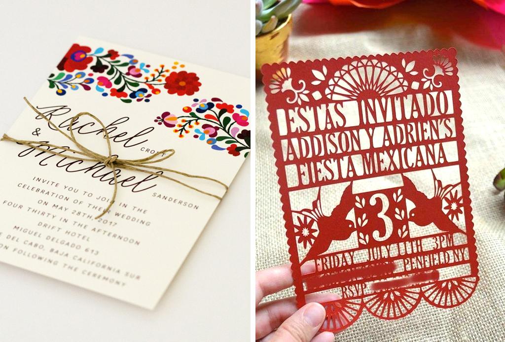 Invitaciones Tematica Mexicana