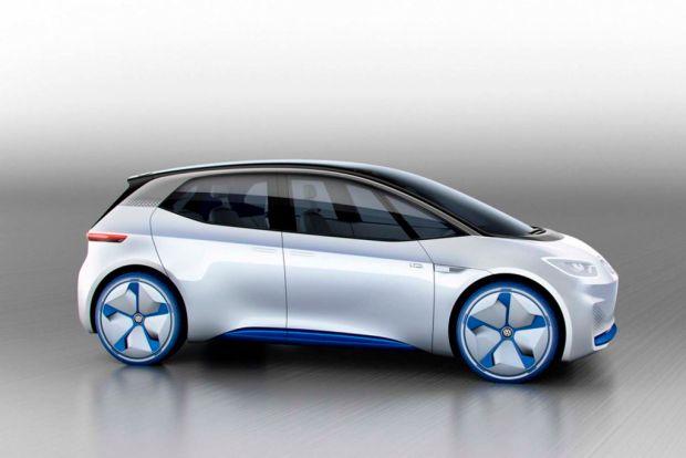Así se verá el nuevo coche eléctrico de Volkswagen - carro-electrico-volkswagen-1024x683