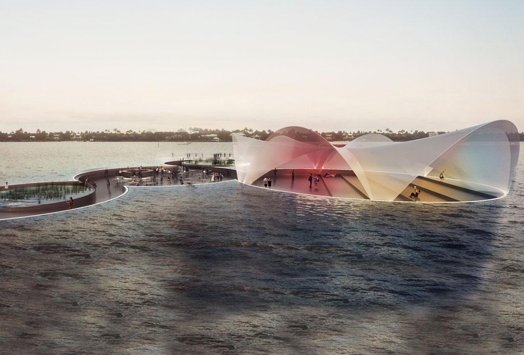 ¡Camina sobre el agua en un mall flotante de Florida!
