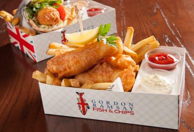 8 restaurantes de Gordon Ramsay que vale la pena visitar - fish-and-chips-1024x694