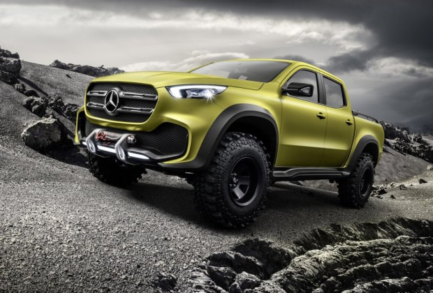 En 2017 llegará la pickup X Class de Mercedes-Benz - mercedes-benz-pick-up-3-1024x694