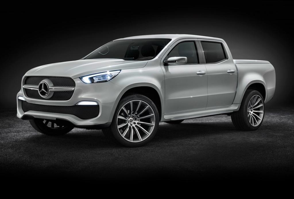 En 2017 llegará la pickup X Class de Mercedes-Benz